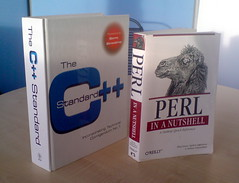 The C++ Standard vs Perl in a Nutshell