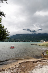 in the lake (-delp-) Tags: france annecy roc europe lac triumph savoie amphicar 2007 chere duingt