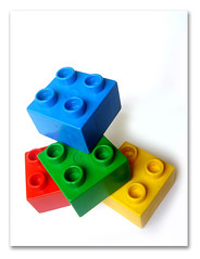 Building Blocks (brilliantbrylle) Tags: blue red macro green yellow toys colorful lego buildingblocks colorphotoaward