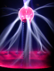electricity (viacreativa) Tags: light colour lamp wales ball children fun interesting globe energy power centre science adventure electricity learning physics plasma exciting tesla nicoli techniquest teslaorbs