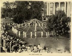 May Pole Dance (UMW Centennial) Tags: 1920s college virginia centennial washington dance university mary battlefield mayday fredericksburg 1929 maypole umw mwc virginiahall umwcentennial librimage278webversionjpg umwblogs