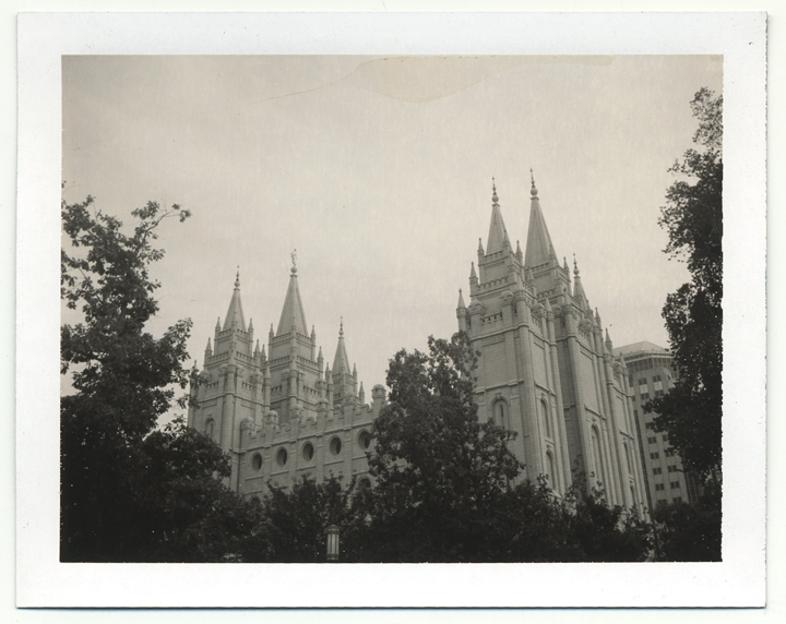 Salt Lake Temple  �  7.5.07