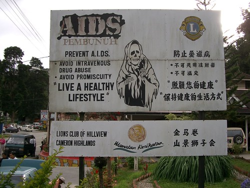 AIDS Poster in Malaysia
