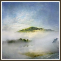 Morning Has Broken! (adrians_art) Tags: morning england sky mist mountains water weather misty fog clouds reflections geotagged dawn bravo grasmere lakes atmosphere cumbria peopleschoice geotags impressedbeauty aplusphoto wowiekasowie excellentphotographerawards excapture