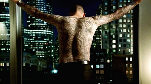 Wentworth Miller tatuaje espalda