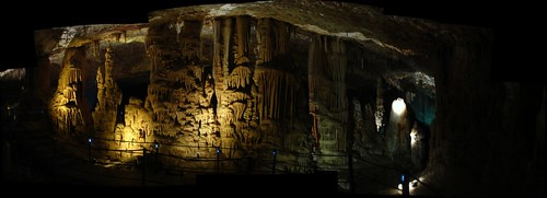 Soreq caves panorama