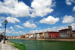 Lungarno - Pisa (fabilly74) Tags: sky catchycolors pisa arno nikkor toscana italians lifeshot tuscan lungarno supershot golddragon thecolor anawesomeshot aplusphoto superphotos eliteimages colourartaward d40x1855 spiritofphotography qualitypixels fabcap skyascanvas nikonflickraward panoramafotográfico