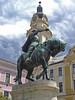 Hadd jöjjön a vihar! / Let the storm come! (ssshiny) Tags: sky cloud storm statue hungary ég felhő pécs szobor vihar magyarország 230countrieshungary hunyadijános johnhunyadi