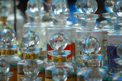 ittar crystals (perplexedeyes) Tags: india perfume market mysore devarajursmarket