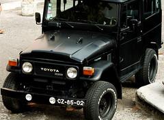black cars portugal japan jeep sintra wheels toyota landcruiser thirdgeneration 40series 1on1planestrainsautomobiles alltypesoftransport
