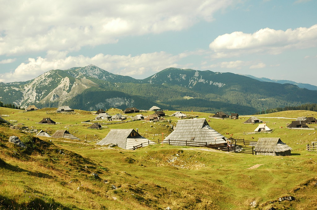 Velika Planina - A falu