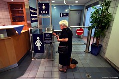 Frankfurt Station Pay Toilets
