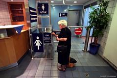 Frankfurt Station Pay Toilets