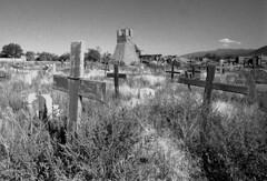 Taos Pueblo - cemetery
