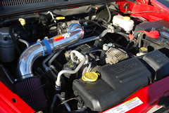 truck 4x4 cai dodge dakota coldairintake
