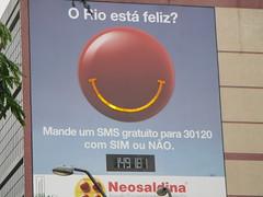 O Rio está feliz?