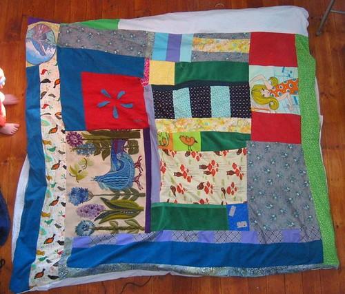 Kevin's quilt for Alder