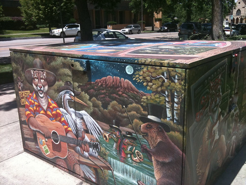 Art in Public Places program promotes local artists and discourages graffiti