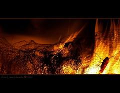 Ave fenix (Ana Lpez Heredia) Tags: espaa color luz contraluz noche rojo shadows sombra bamboo sanjuan fuego naranja wacom sombras texturas cantabria nit anochecer pentablet konicaminolta foc instantes maliao