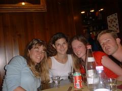 DSCF0030 (lilbuttz) Tags: italy restaurant courtney tracytripp jonguilford accentflorencespring2002