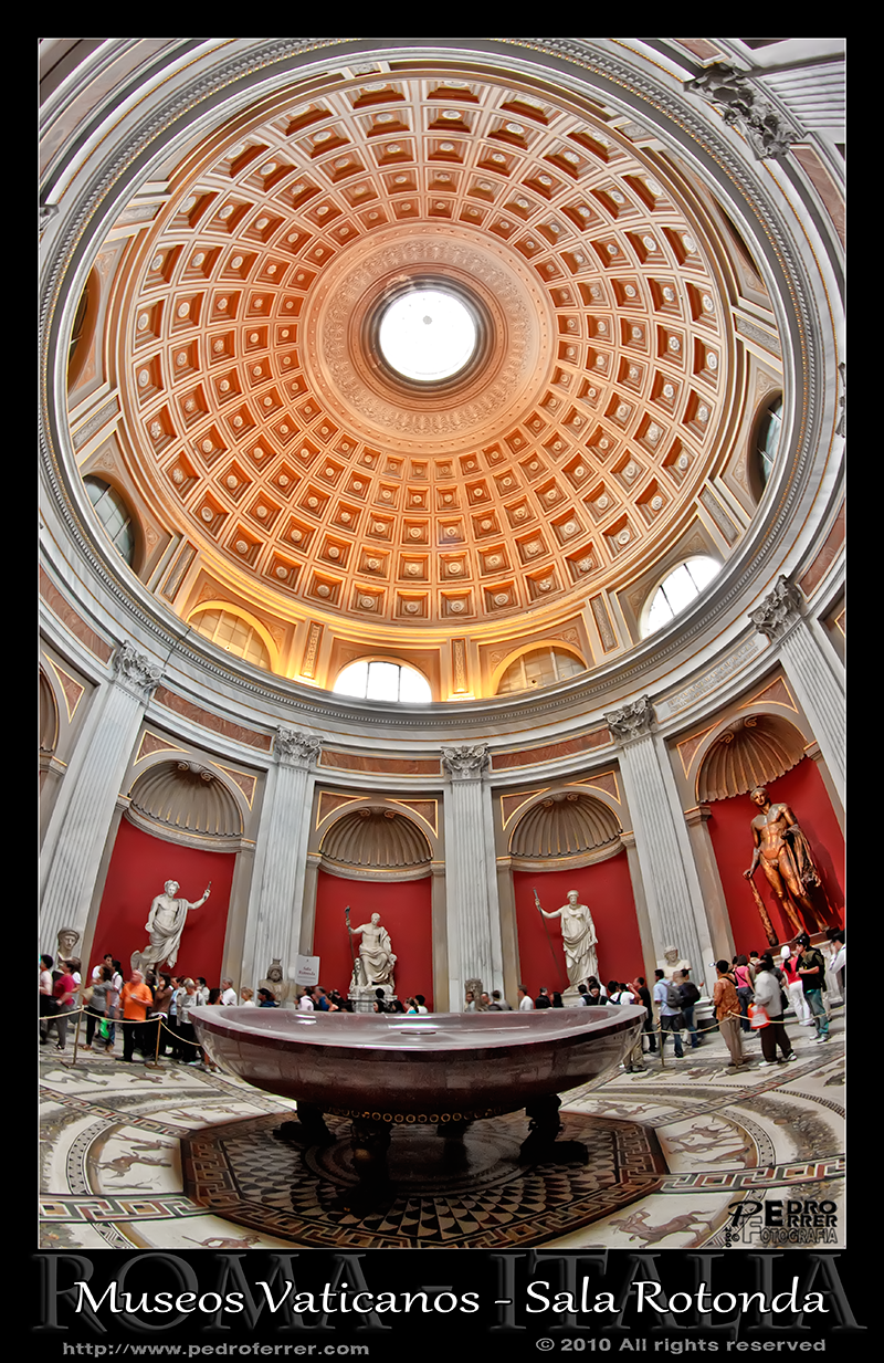 Museos Vaticanos - Sala Rotonda