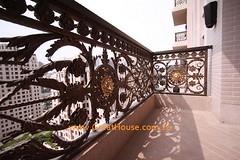 聯聚怡和 景觀陽台鑲嵌鍛造藝術欄杆
