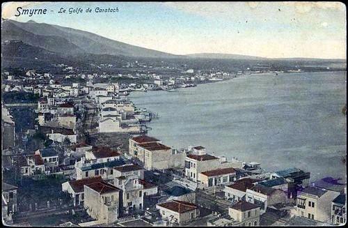 Karpostallarda yangından önce İzmir, Karataş