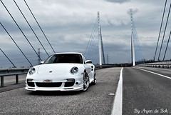 Porsche 997 Turbo Techart (arjendebok) Tags: white car germany de nikon 911 fast turbo porsche bok pk 997 tuned 580 begium techart d60 bhp arjen arjendebok