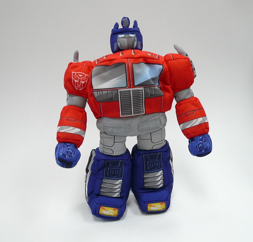 Transformer Optimus Prime peluche robot