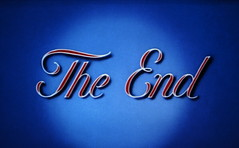 The End (Dill Pixels) Tags: blue cartoon theend script title mgm 7000views endtitle probablyadroopy