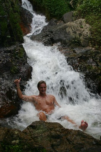 Namuang II Waterfall - good fun!
