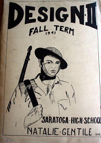 Design, Fall Term 1941, Soldier