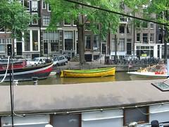 Pretty Canal Boats (mrisney) Tags: amsterdam elena jordaan annefrankhouse