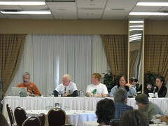 Photo of the Education Panel by Bob Goyetche