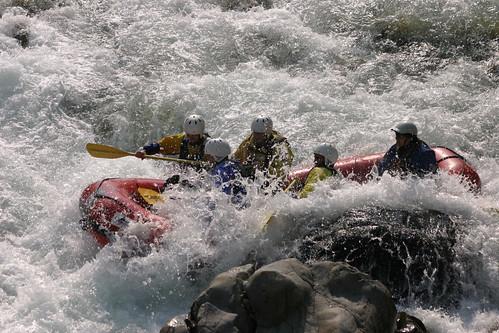Rafting sul Sesia