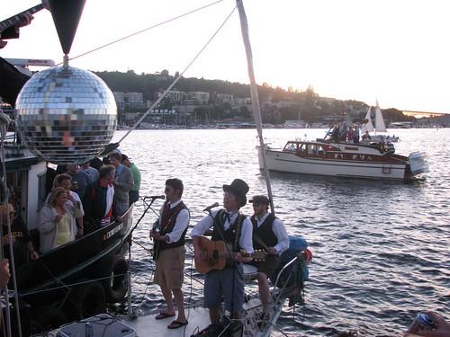 Band Plays Lake Union