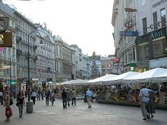 Kaerntner Strasse in Vienna