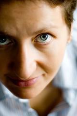 g'morning :) (alucco7) Tags: woman selfportrait autoportrait goodmorning nomakeup