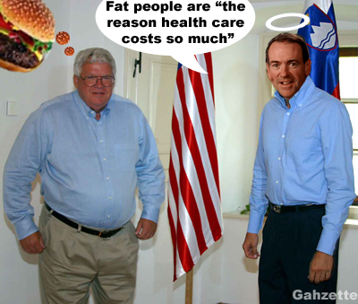 Fatty Hastert and Huckabee