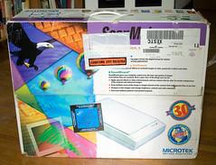 Microtek ScanMaker flatbed scanner
