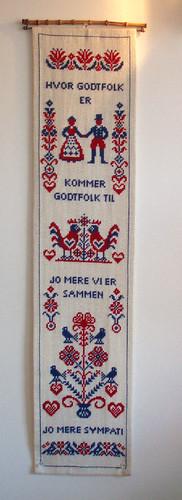 seinävaate red vikingissä