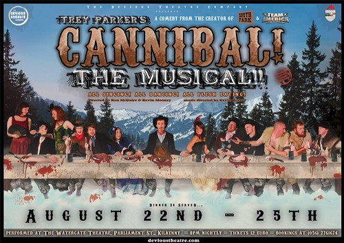 Cannibal! The Musical artwork