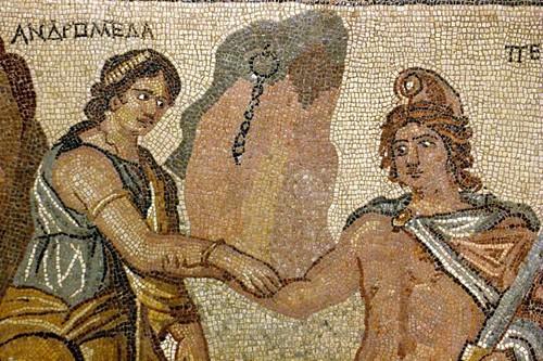 Perseu e Andrômeda.