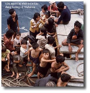 """Thuyen nhan """"ti nan"""" sau 1975 by tranxuanan_vn."""