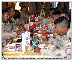 Pegasus Grill at Camp Liberty in Iraq