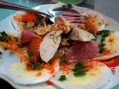 Banh Beo from stand 1138, Ben Thanh Market