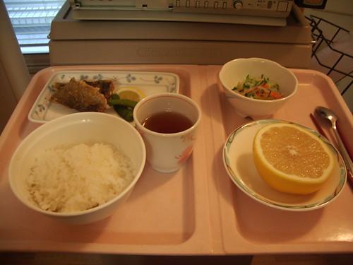 入院1日目の食事