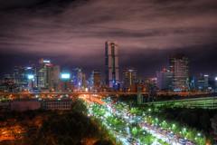 Flashy Neons (IceCatSeoul) Tags: city colors skyline night lights asia cityscape korea seoul hdr ville neons hdrextremes hdrenfrancais colourartaward