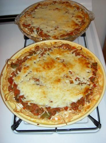 Cooked Spaghetti Pie