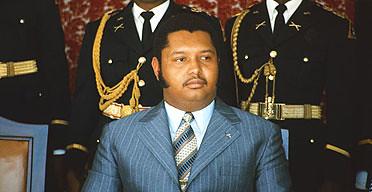 Jean-Claude 'Baby-Doc' Duvalier  1975 photogra...